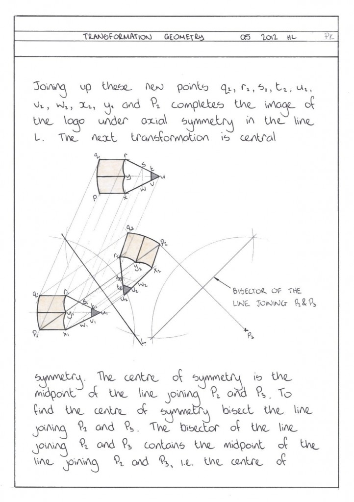 TRANSFORMATION GEOMETRY Q5 2012 HL PG4 CLN